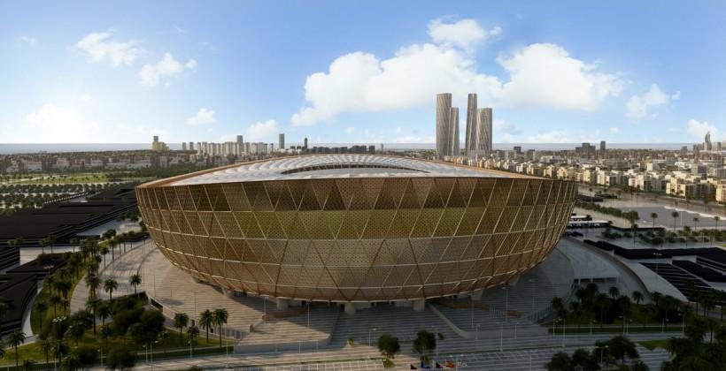 Катар представил дизайн стадиона, на котором пройдет финал ЧМ-2022