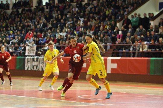 Женская сборная Украины по футзалу в полуфинале Евро-2019 сыграет с Португалией