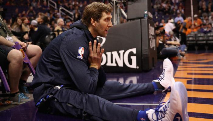 Новицки сыграл за Даллас в 21-м сезоне. Это рекорд НБА