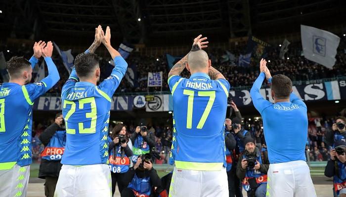 Наполи повторил «достижение» Динамо. Он вылетел из Лиги чемпионов, лидируя в группе после 5 туров