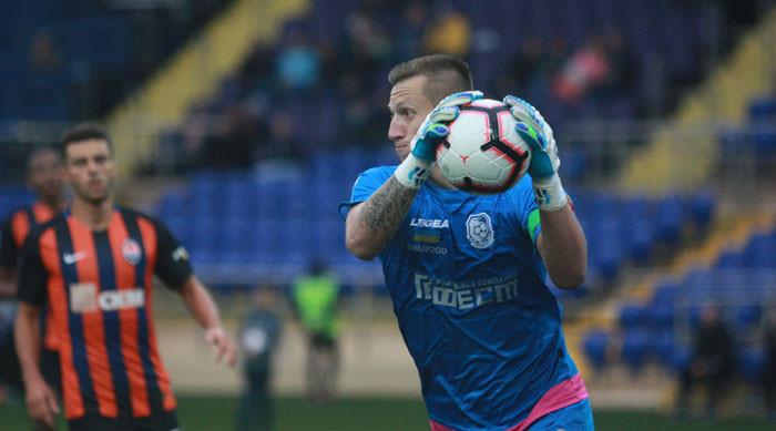 Вратарь Черноморца Литовченко может пополнить состав чемпиона Грузии