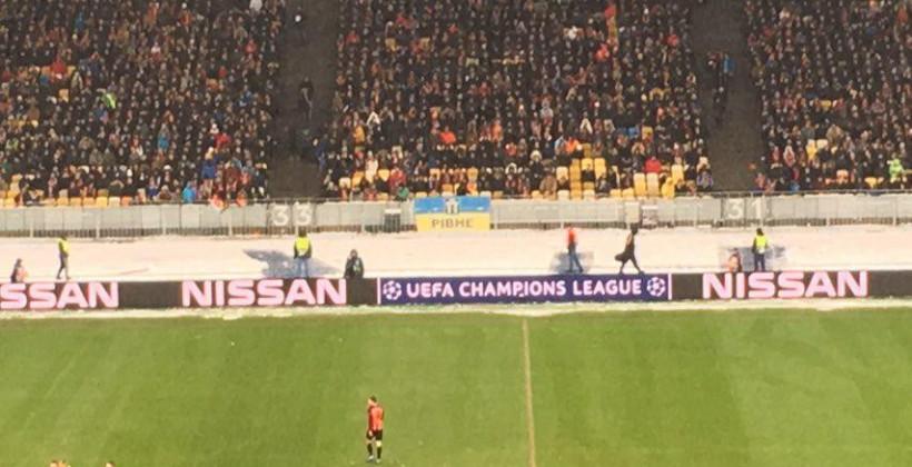 Матч Шахтера в Киеве посетили в три раза больше болельщиков, чем игру Динамо