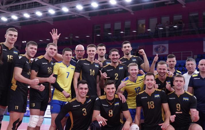 Украина волейбол