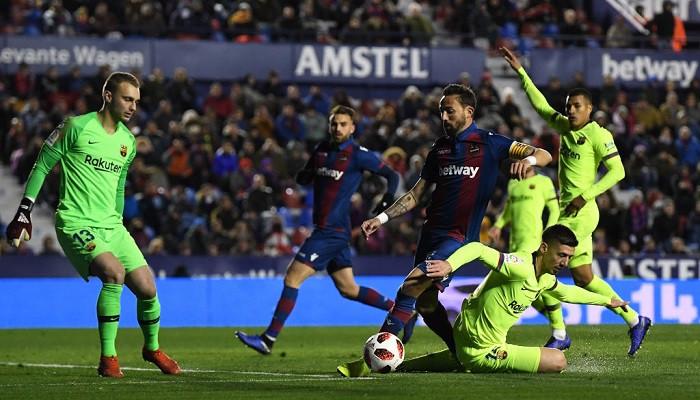 Барселона Леванте Кубок Испании
