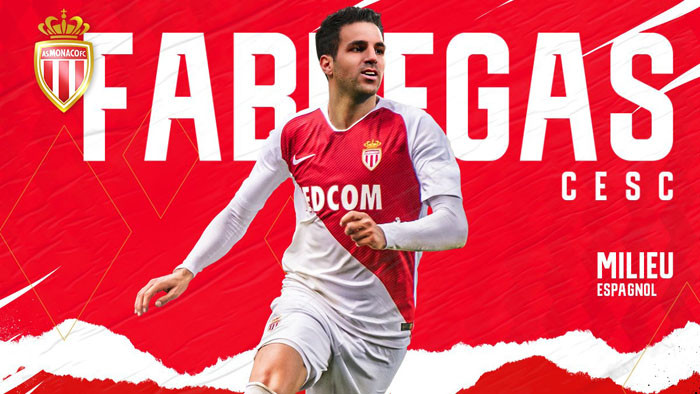 Фабрегас подписал контракт с Монако до 2022 года