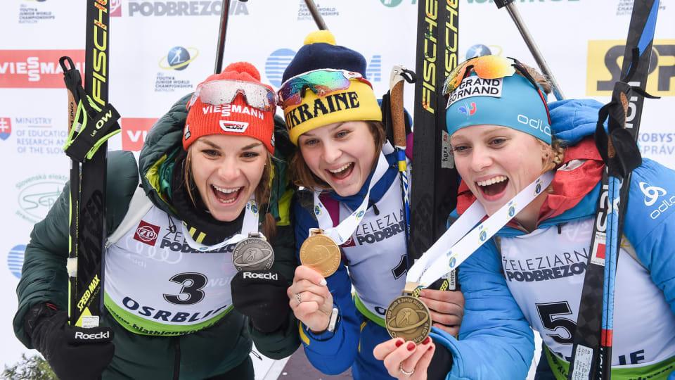 Екатерина Бех биатлон победа золото Украина