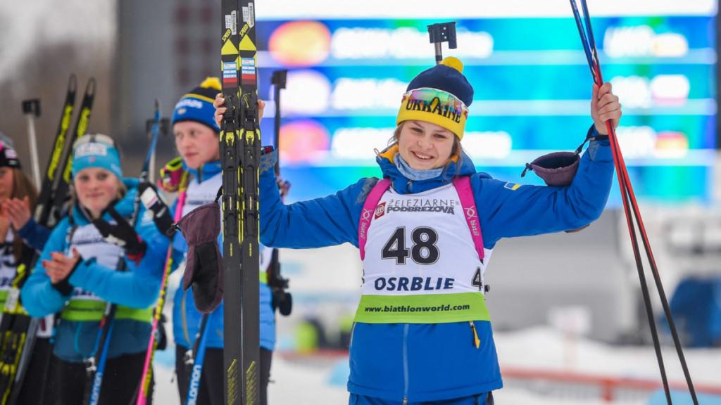 Екатерина Бех Украина биатлон золото