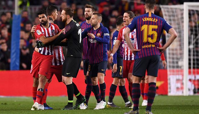 Атлетико - Барселона где смотреть онлайн трансляцию матча
