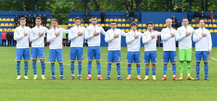 Сборная Украины U-18 проиграла России в матче за третье место на Кубке Словакии