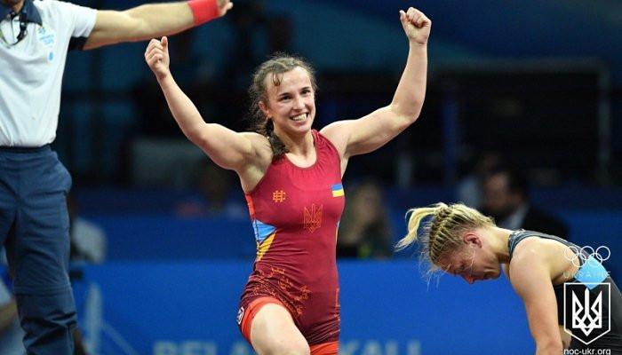 Ливач завоевала серебряную медаль в женской борьбе на Европейских играх