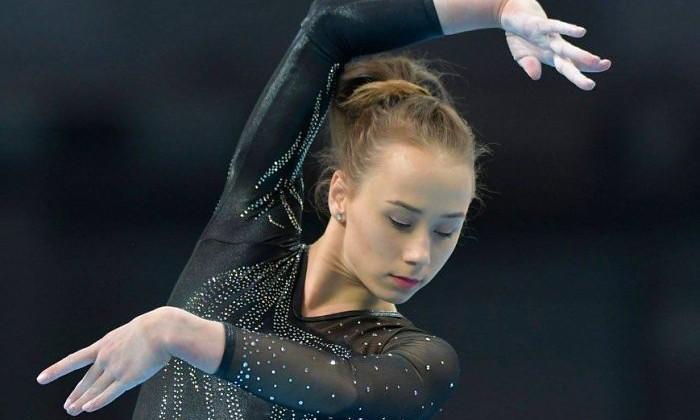 Украинские гимнастки выиграли три медали на Кубке вызова в Париже