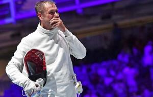 Рейзлін вийшов в півфінал Олімпіади в чоловічому турнірі в шпазі