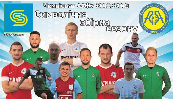 ААФУ: символічна збірна сезону 2018/2019