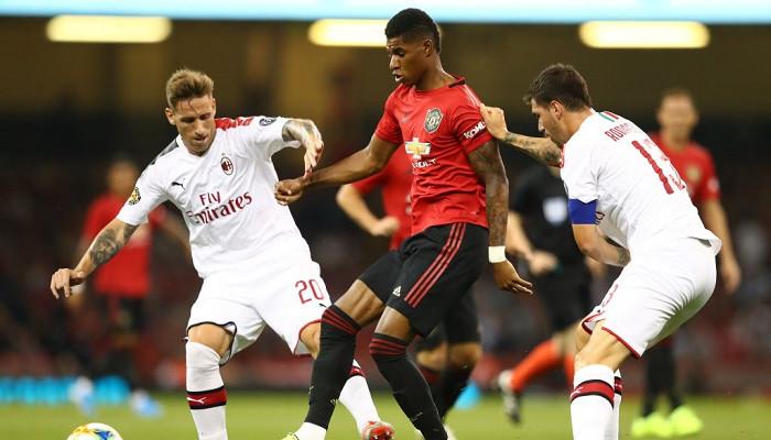 Манчестер Юнайтед vs Милан – вывеска, которая завлекает