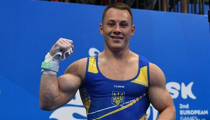 Украинец Радивилов выиграл золото и бронзу чемпионата Европы по спортивной гимнастике