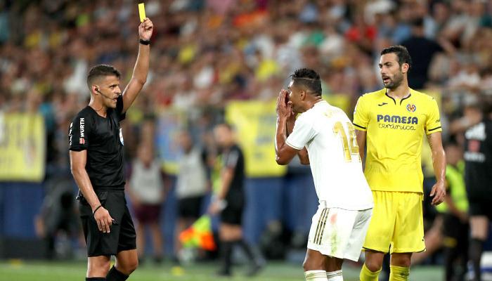 Желтая карточка Каземиро, полученная в матче с Вильярреалом, аннулирована
