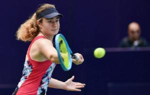 Снигур вышла в 1/8 финала турнира ITF в Португалии