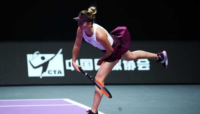 Элина Свитолина WTA Finals