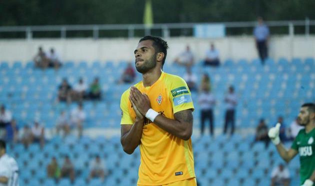 Эсеола отдал ассист и не реализовал пенальти в матче чемпионата Казахстана (видео)