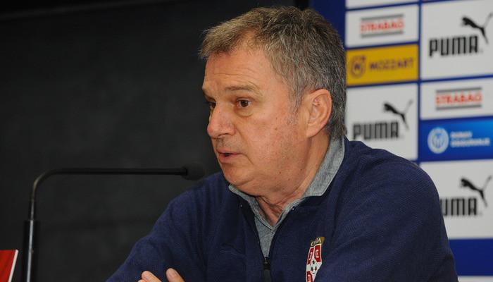 Тренер Сербии Тумбакович: «Украинская сборная отличается невероятной дисциплиной»