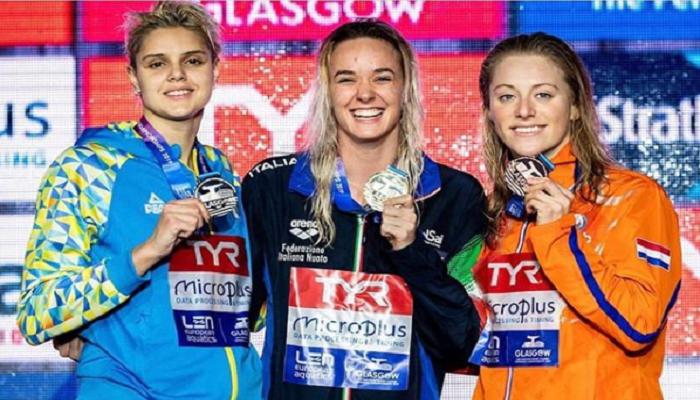 Призерша чемпионата Европы по плаванию Зевина: «Наслаждалась каждой секундой»