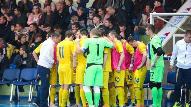 Збірна України з футзалу розгромно програла Хорватії у відборі на Євро-2022