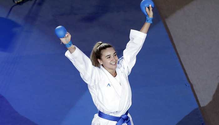 Терлюга виграла золото на етапі Karate 1 Premier League в Лісабоні