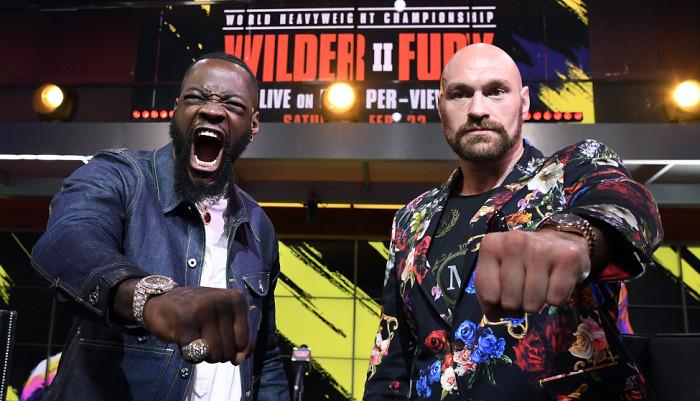 Третий бой Фьюри и Уайлдера пройдет на домашней арене Лас-Вегас Рэйдерс