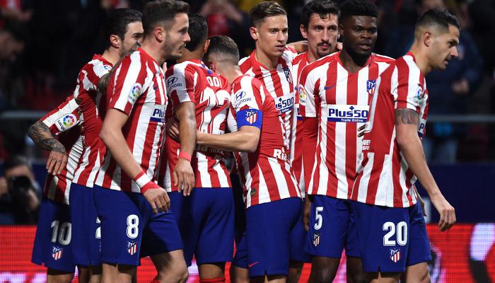 Игроки Атлетико в среду сдадут тесты на коронавирус