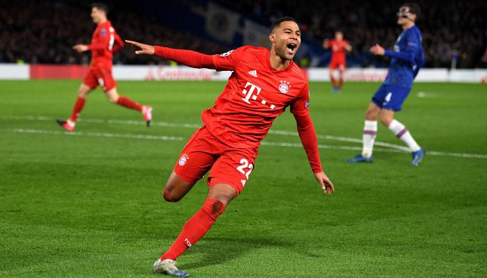Автор дубля в ворота Лиона Гнабри признан лучшим игроком недели в Лиге чемпионов