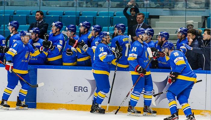 Украина хоккей