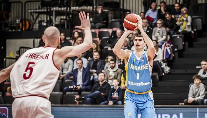 Австрия Украина баскетбол