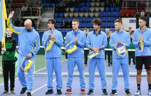 Сборная Украины сыграет с Норвегией в плей-офф Кубка Дэвиса