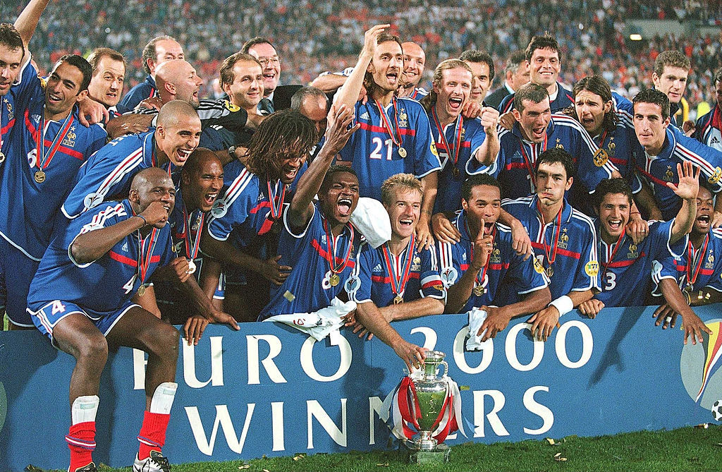 франция чемпион европы