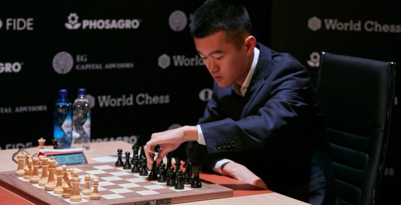 Ван Хао обыграл Дин Лижэня в первом туре турнира претендентов