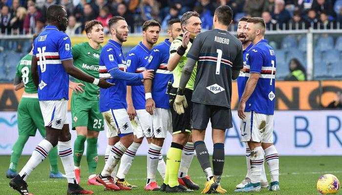 Сампдория - Аталанта: где смотреть онлайн видеотрансляцию матча