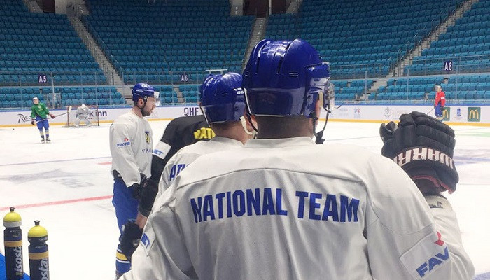 Збірна України опустилася на 26-е місце в рейтингу IIHF