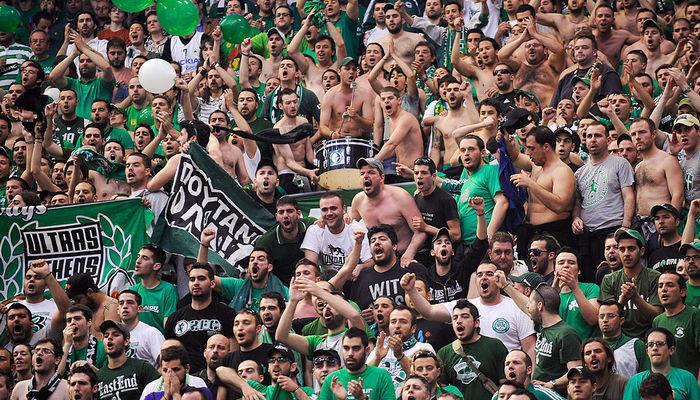 Фанаты Панатинаикос баскетбол Евролига