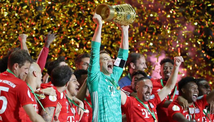 Финал Кубка Германии состоится 4 июля