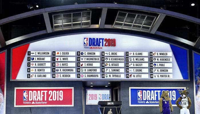 НБА перенесет драфт-2020 на август или сентябрь