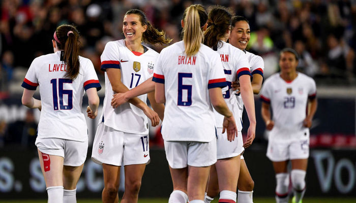 США женская сборная