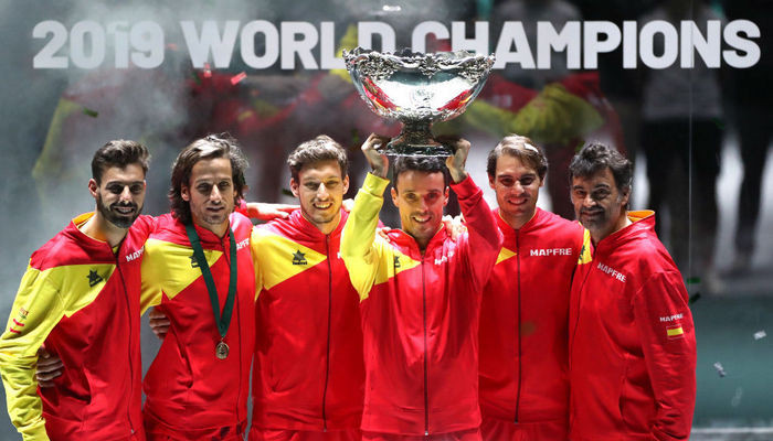 Кубок Дэвиса Финал 2019 сборная Испании по теннису