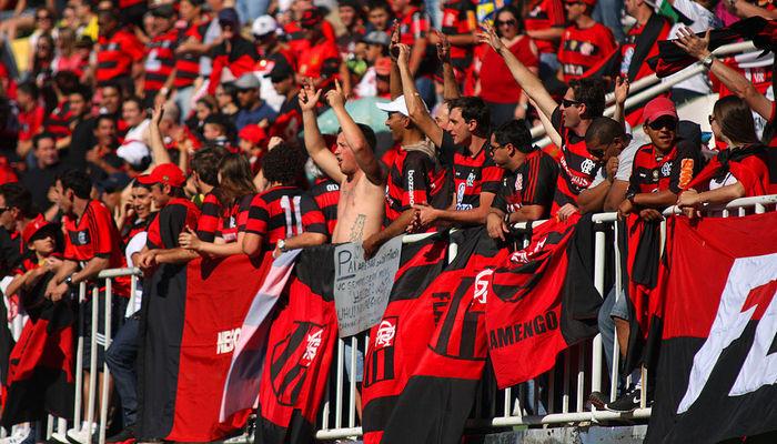 Фанаты Фламенго Бразилия