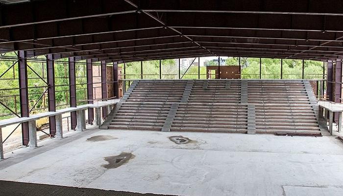 Новий Палац спорту в Хмельницькому збудований наполовину