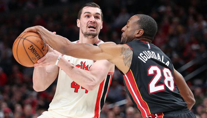Портленд Майами НБА