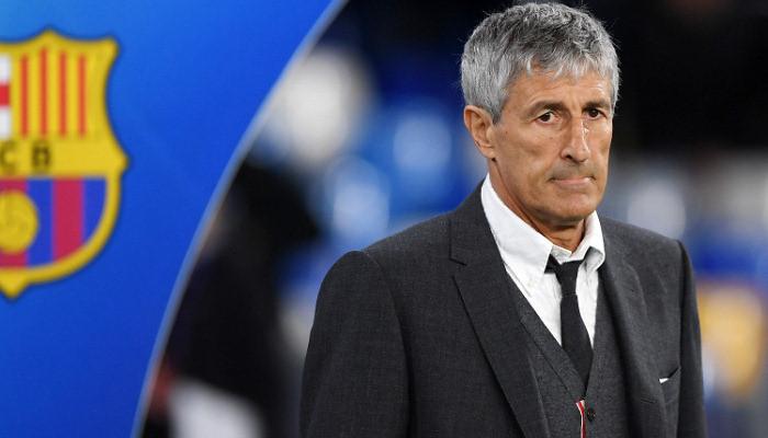 Барселона уволила Сетьена с поста главного тренера команды