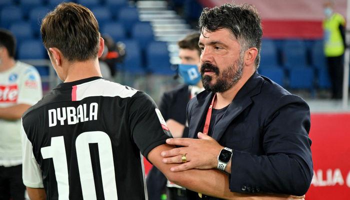 Дженнаро Гаттузо Наполи Пауло Дибала Ювентус Кубок Италии