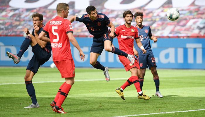 Левандовські встановив особистий рекорд результативності за клубний сезон
