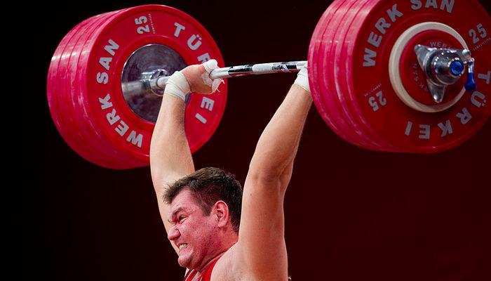 Алексей Ловчев тяжелая атлетика
