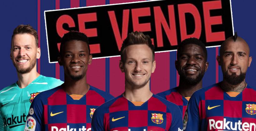 Барселона готова продать 12 игроков в межсезонье. В их числе Коутиньо, Дембеле и Видаль